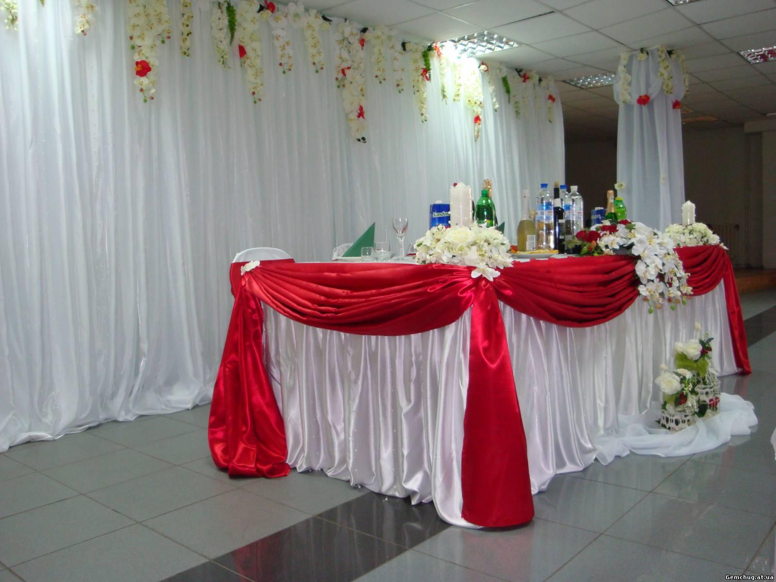 Украшения зала на свадьбу фото и цены